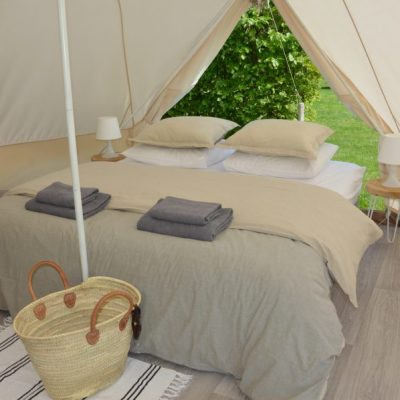 Tente Glamping Deluxe pour 2 personnes