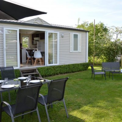 Mobilhome Glamping pour 2 à 4 personnes