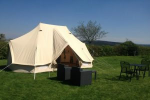 Glamping Tent Deluxe for 2