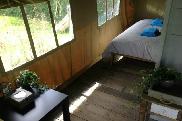 Glamping Safari Tent - Bedroom 1