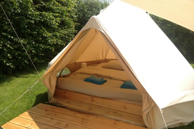 "Glamping Tent for 2 - ""The Bedroom"""