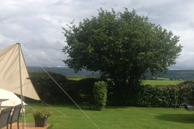 Glamping Tent for 2 - The view